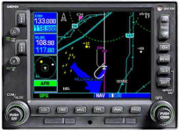 Global Positioning System Gps Garmin Gns 530