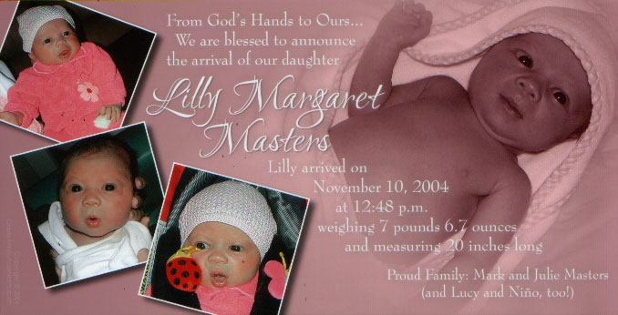 Lilly Margaret Masters